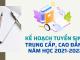 Tuyen Sinh Cao Dang Trung Cap Nam 2021
