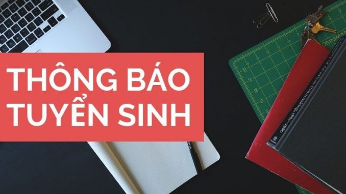 Tuyen Sinh Trung Cap